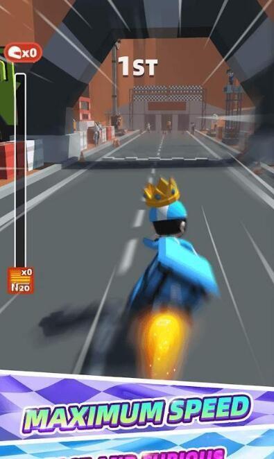 竞速摩托赛截图