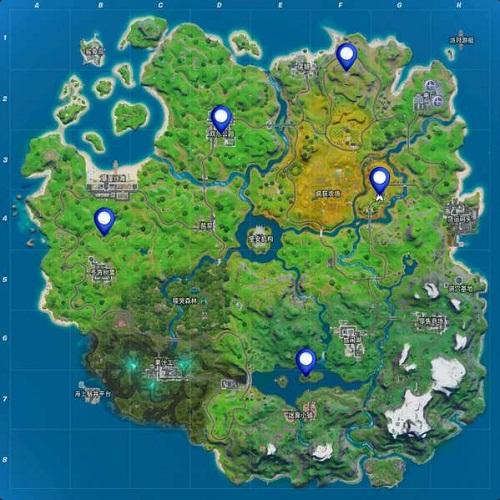 堡垒之夜暗影方安全屋在哪里 找到5个暗影方安全屋位置